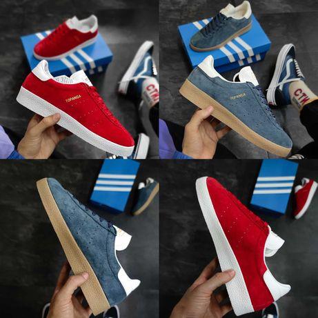 Мужские кроссовки Adidas Topanga Red Blue 40-44 Хит Осени 2021!