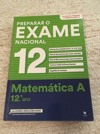 Livro preparação para exame Mat A