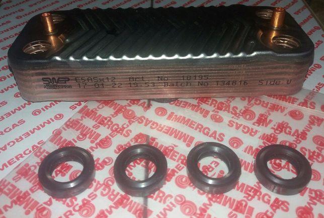 Теплообменник Immergas Mini 24 3 E ( 12 пластин )