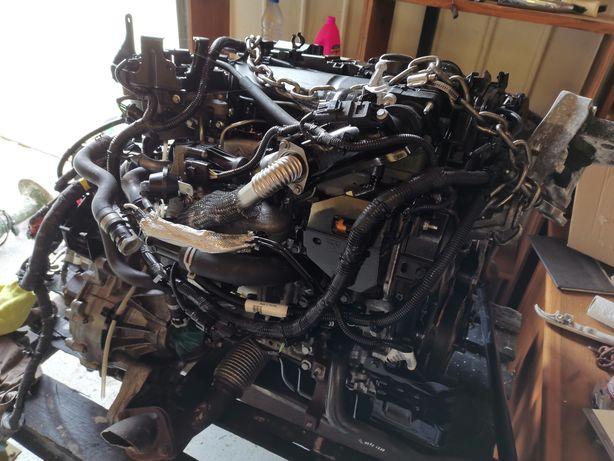Motor e caixa volvo V40