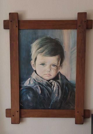 Obraz - portret dziecka
