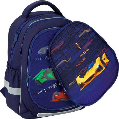 Розпродаж. Рюкзак шкільний Kite Education Fast cars K20-700M(2p)-4