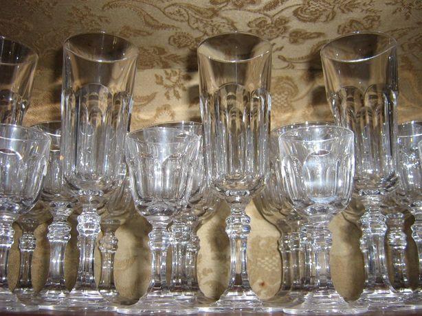 Serviço de jantar de copos cristal Vista Alegre