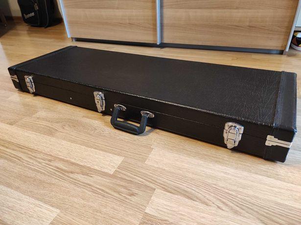 Case gitara elektryczna - twardy futerał