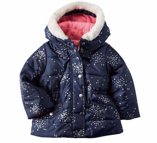 Куртка для девочки Carters 4-в-1 на 18 месяцев. 1 покупка - 2 вещи