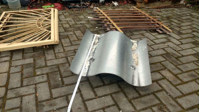 Zadaszenie daszek kominowy stal nierdzewna 56cm