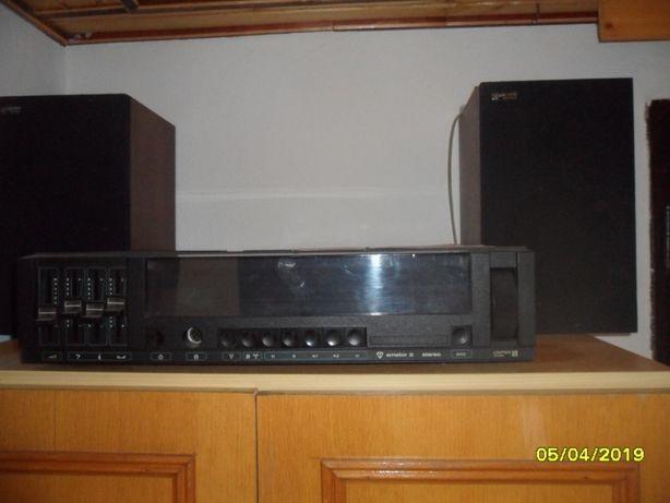 sprzedam radio amator z dwoma głośnikami
