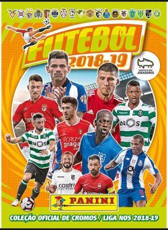 Caderneta Futebol 2018/19 Panini