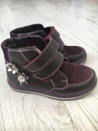Ботинки кожаные, размер 28