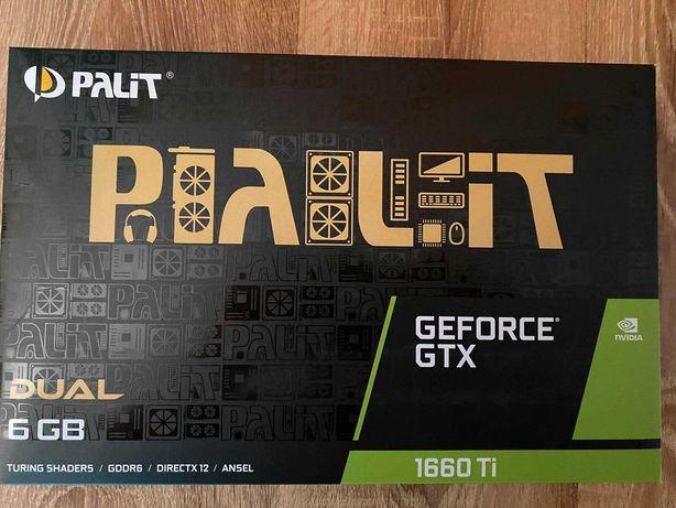 Palit GeForce GTX 1660 Ti Dual 6GB GDDR6