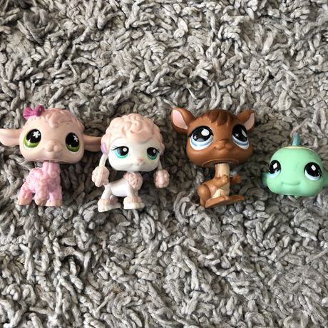 littlest pet shop figurki zestaw