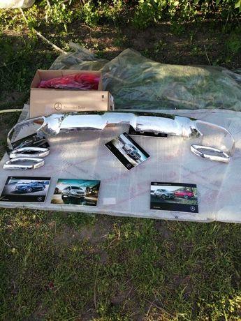 Накладка на Mercedes GLE