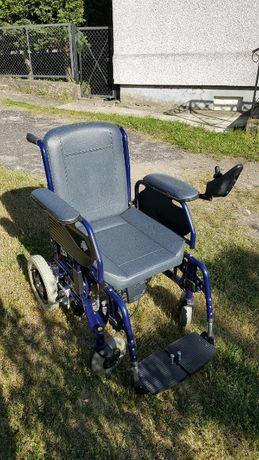 Wózek inwalidzki elektryczny Rapido USZKODZONY! (czytaj opis)