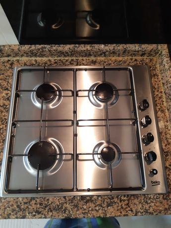 Placa de fogão a gás com isqueiro