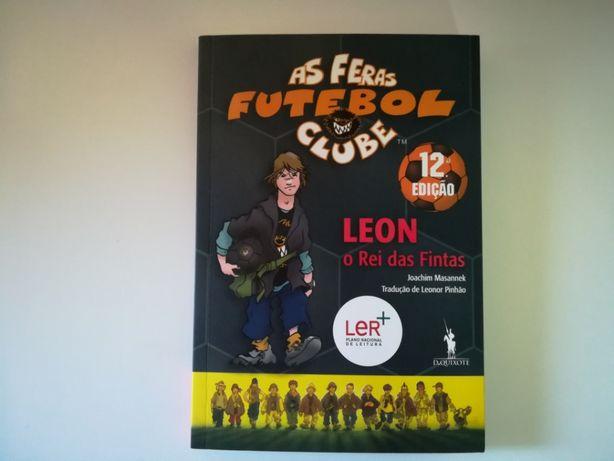 """Livro """"Leon, O Rei das Fintas"""" - Colecção """"As Feras Futebol Clube"""""""