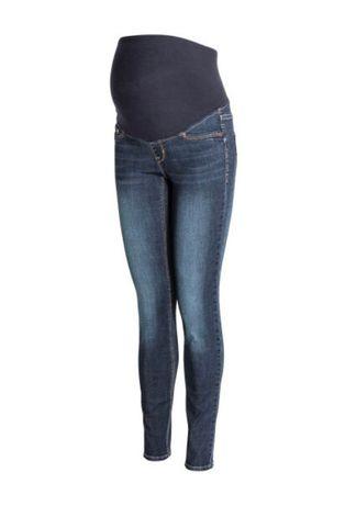 Spodnie Mama Ciążowe H&M Skinny Jeans Pas r. 40