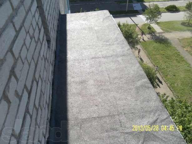 Ремонт кровли балконов в Донецке.Кровля рубероидом,шифером.Ремонт крыш