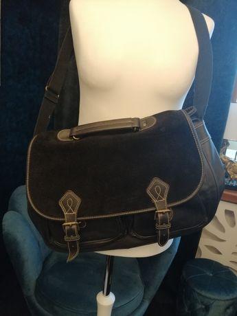 Skórzana torebka marki ESPRIT- Skóra naturalna !!!