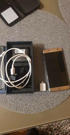 Samsung S7 edge złoty