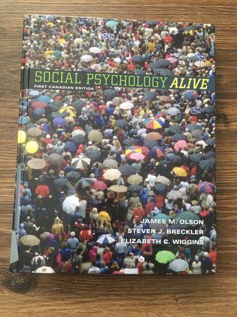 """Książka w języku angielskim """"Social Psychology Alive"""""""