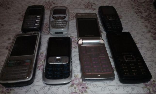 Продаются кнопочные телефоны б.у.