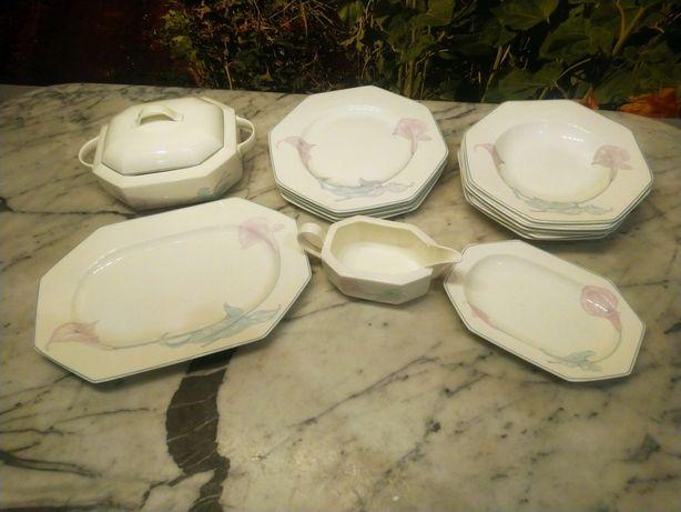 Zestaw obiadowy Villeroy & Boch Calla 13 elementów