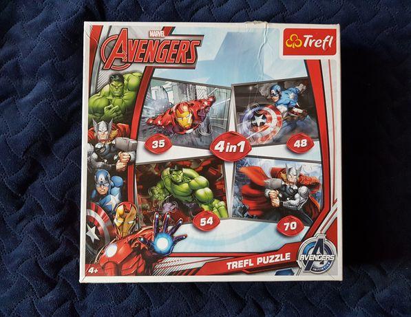 Trefl Puzzle Marvel Avengers 4in1