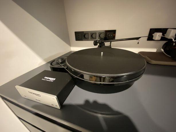 Gramofon Pro-Ject Rpm 3 Carbon + Przedwzmacniacz Thorens MM-008 Silver