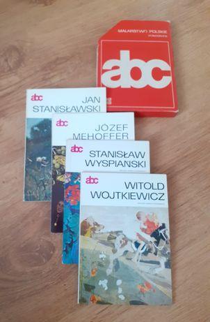 Abc malarstwa polskiego.  Monografie 4 artystów malarzy