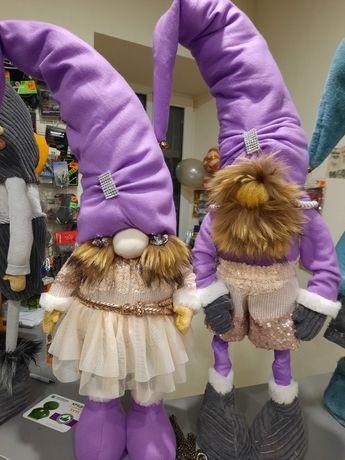 Новогодние скандинавские гномы под заказ и в наличии