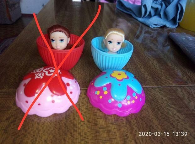 Кукла-капкейк с ароматом ванили