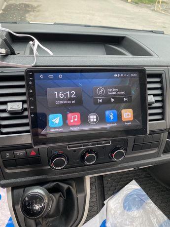 Штатная магнитола VW T6 Passat Getta Golf\Skoda Fabia