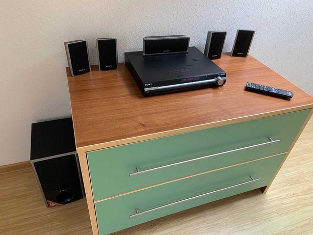 Классный домашний кинотеатр Sony DAV-DZ275M, USB, hdmi, караоке