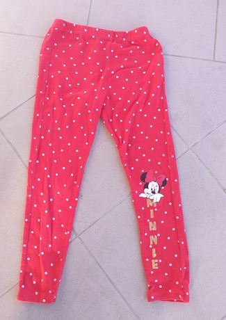 Leginsy getry minnie mouse 122