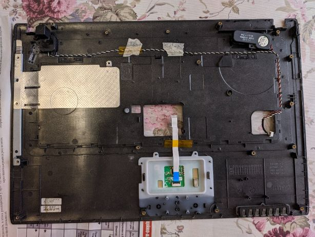 Samsung R518 : корпус, процесрор, кулер, радиатор, питание