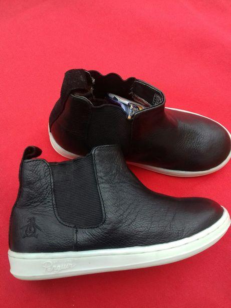 Крутые Ботинки кожаные  Осень  Размер 28 Евросток