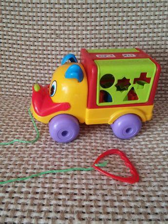 Машина машинка сортер развивающая игрушка