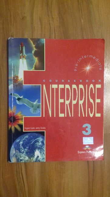 Coursebook - Enterprise 3, Express Publishing, język angielski