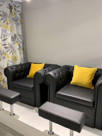 Кресло честер,педикюрное кресло.подиум с валиком.chesterfield.