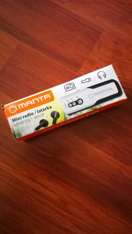 Mini radio/latarka Manta