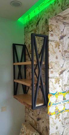 Меблі ЛОФТ, металеві каркаси для меблів