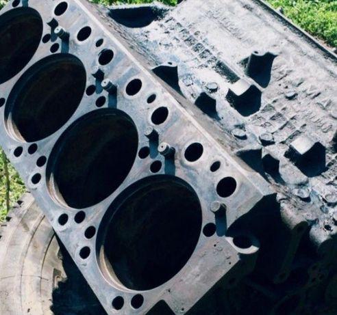 Блок двигателя КамАЗ.