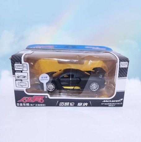 Коллекционная модель машины Mclaren Senna.