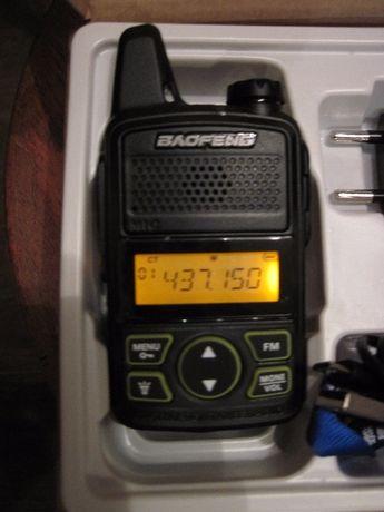 Радиостанция BAO-FENG T1 Mini дальность 1 -3 км. 20 каналов. 470 MHz.