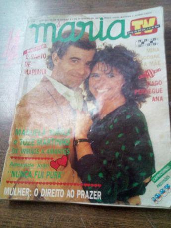 """Revista Maria """"antiguidade"""""""