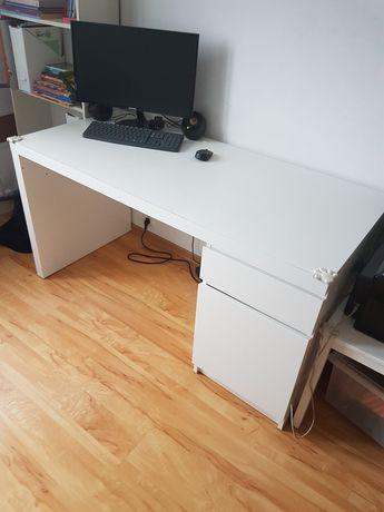 Biurko Ikea Malm + fotel gratis