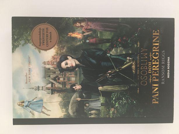 Osobliwy dom pani Peregrine książka Tima Burtona
