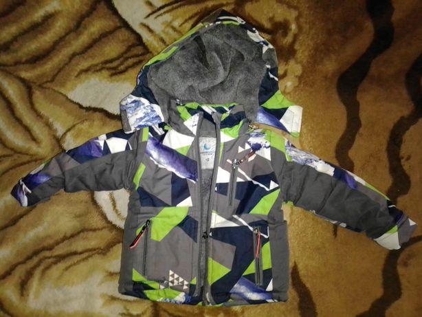 Куртка на хлопчика від 1року