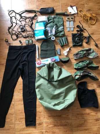 Kit recruta/curso exército