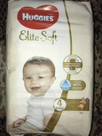 Підгузки Huggies Elite Soft 4 (66 шт.) (2 упаковки)
